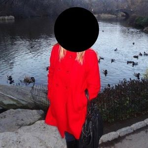 Uniqlo Red Coat